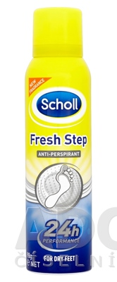 Scholl FRESH STEP anti-perspirant sprej new deodorant
