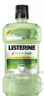 LISTERINE GREEN TEA ústna voda 1x500 ml